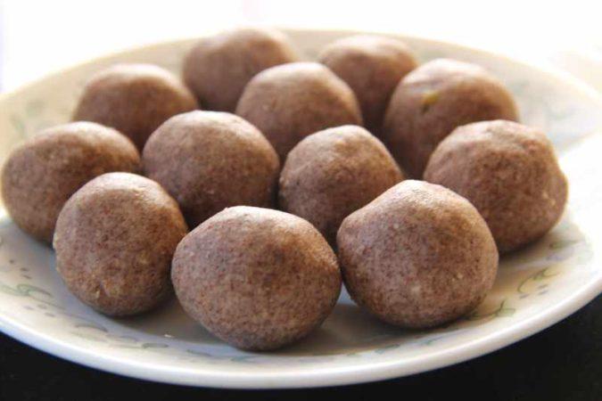 Ragi Laddu Recipe
