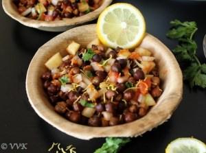 NUTRITION WEEK -HEALTHY RECIPE -Black Chana and Moong Salad