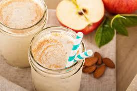 Healthy BreakfastApple Pomegranate Cinnamon Smoothie