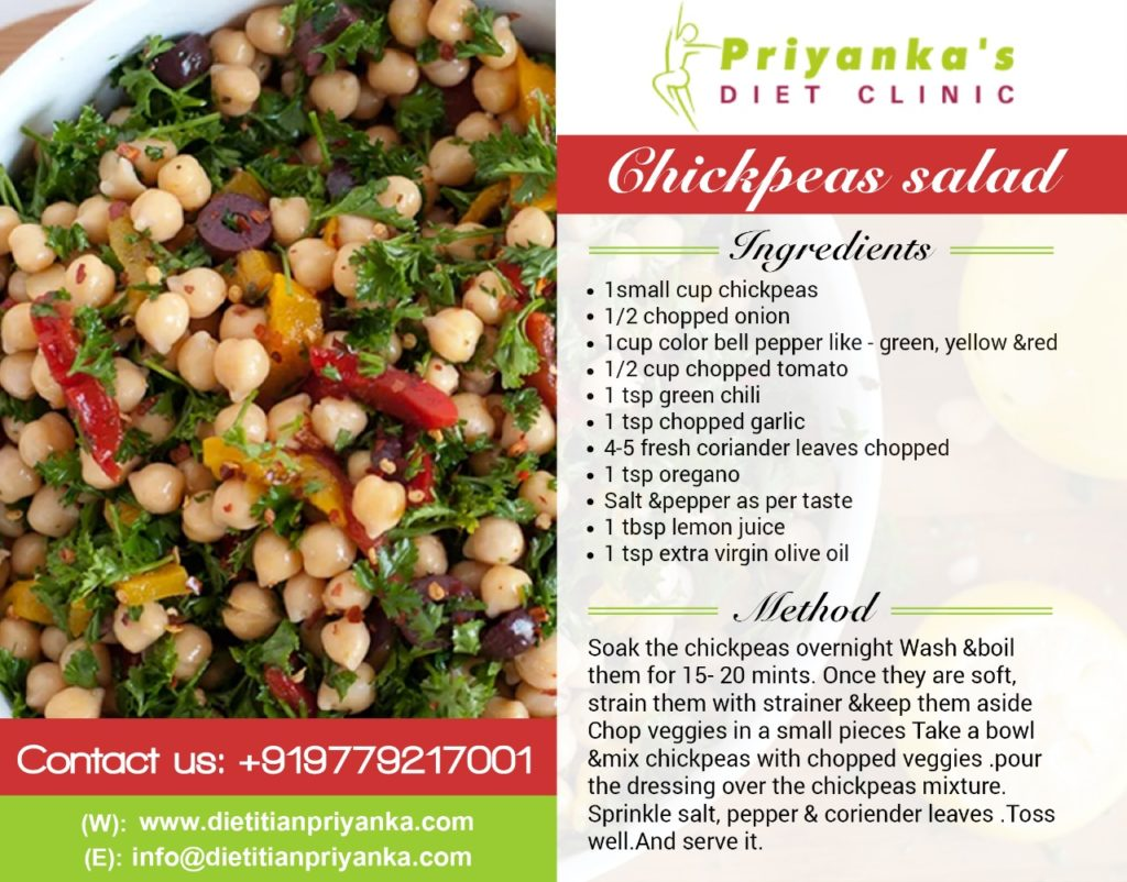 Cheakpeas Salad