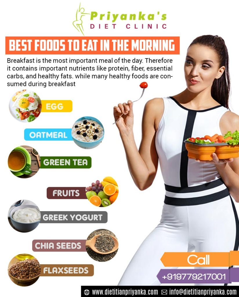 Best Foods To Eat In The Morning