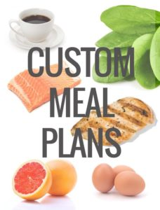 Personalized Customized Weight Loss Diet Plan Custom Meal Plans